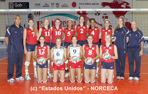 PHOTO COPYRIGHTS: Estados Unidos - NORCECA